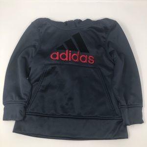 Adidas   Boys 100% Polyester Hoddie